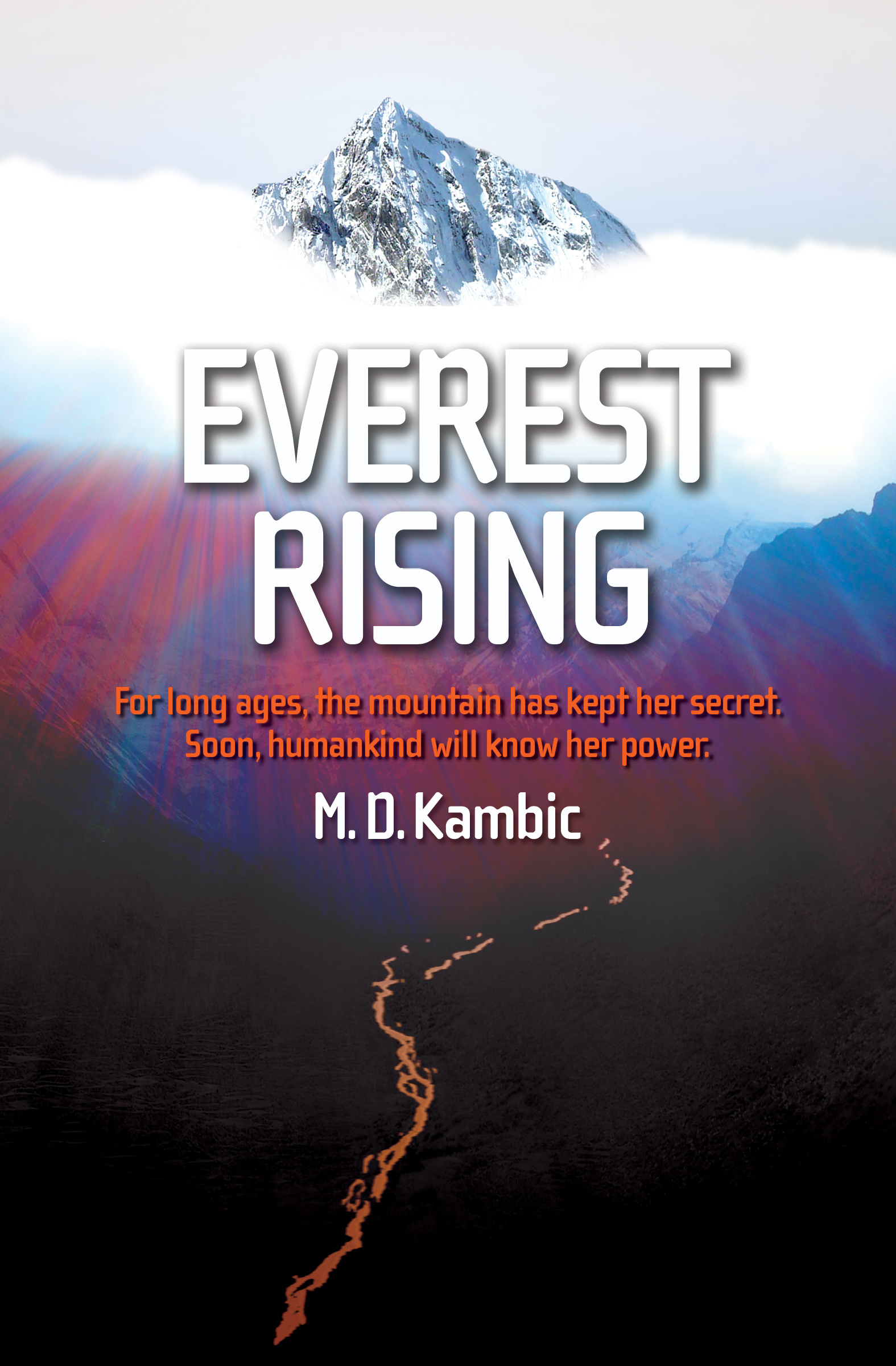 Cover of EVEREST RISING by Matt Kambic